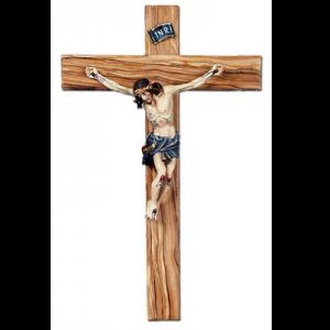Crocifisso in legno di olivo Art. 98