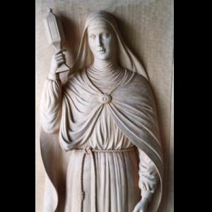 Scultura S.Chiara di Assisi