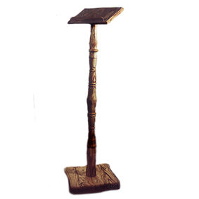 Leggio in legno d'olivo Art. 950