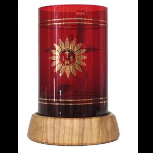 Portaceri in legno di olivo Art. 231
